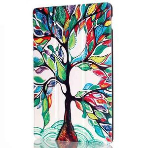 Polohovatelné pouzdro na tablet Lenovo Tab 2 A10-70 - malovaný strom - 4