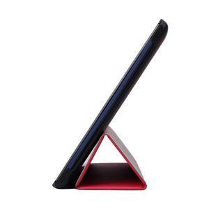 Trifold polohovatelné pouzdro na Lenovo Tab 2 A10-70 - rose - 4