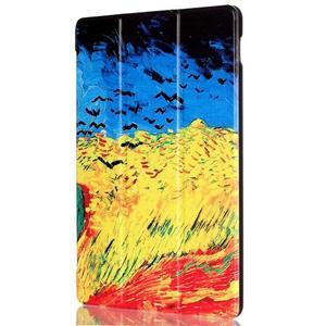 Polohovatelné pouzdro na tablet Lenovo Tab 2 A10-70 - umělecká mabla - 4