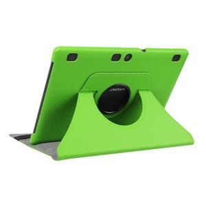 Pouzdro s otočnou funkcí na tablet Lenovo Tab 2 A10-70 - zelené - 4