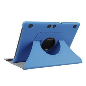 Pouzdro s otočnou funkcí na tablet Lenovo Tab 2 A10-70 - světlemodré - 4