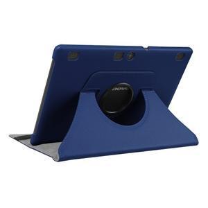 Pouzdro s otočnou funkcí na tablet Lenovo Tab 2 A10-70 - tmavěmodré - 4
