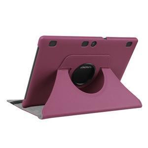 Pouzdro s otočnou funkcí na tablet Lenovo Tab 2 A10-70 - fialové - 4