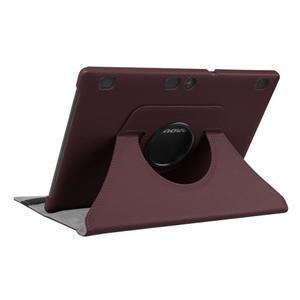 Pouzdro s otočnou funkcí na tablet Lenovo Tab 2 A10-70 - tmavěhnědé - 4