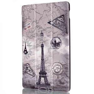 Polohovatelné pouzdro na tablet Lenovo Tab 2 A10-70 - Eiffelova věž - 4