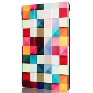 Polohovatelné pouzdro na tablet Lenovo Tab 2 A10-70 - barevné kostky - 4