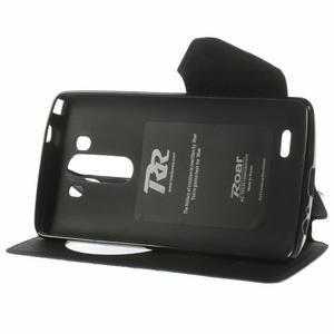 Diary pouzdro s okýnkem na mobil LG G3 - tmavěmodré - 4