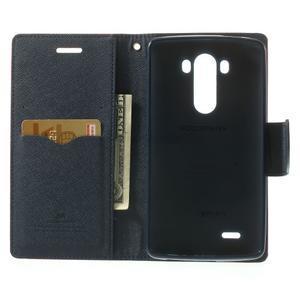 Goos peněženkové pouzdro na LG G3 - rose - 4