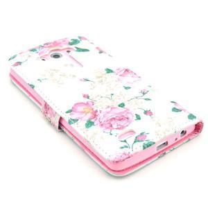 Obrázkové pouzdro na mobil LG G3 - květiny - 4