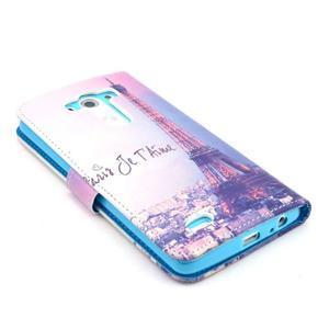 Obrázkové pouzdro na mobil LG G3 - Eiffelova věž - 4