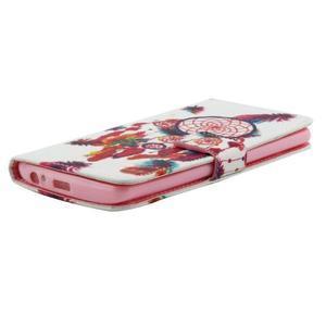 Obrázkové koženkové pouzdro na mobil LG G3 - lapač snů - 4