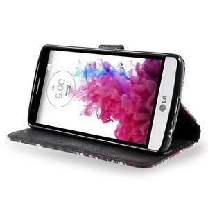 Motive koženkové pouzdro na LG G3 - kouzlení motýlci - 4