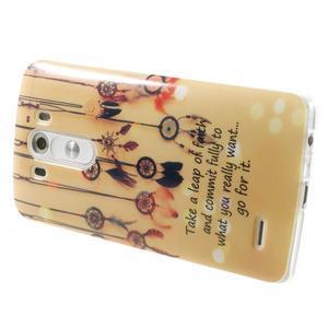 Gelový kryt na mobil LG G3 - lapače snů - 4