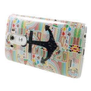 Gelový kryt na mobil LG G3 - kotva - 4