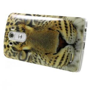 Gelový kryt na mobil LG G3 - leopard - 4