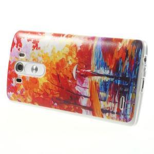Silks gelový obal na mobil LG G3 - podzimní malba - 4