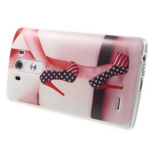 Silks gelový obal na mobil LG G3 - sexy střevíce - 4