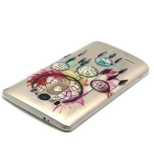 Průhledný gelový obal na LG G3 - lapač snů - 4