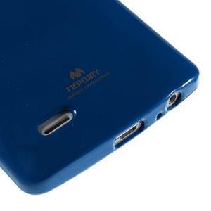 Odolný gelový obal na mobil LG G3 - tmavěmodrý - 4