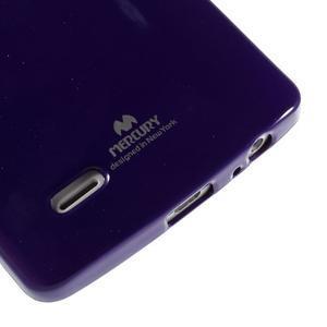 Odolný gelový obal na mobil LG G3 - fialový - 4