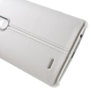 Lines gelový kryt na mobil LG G3 - bílý - 4