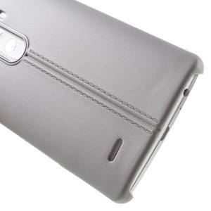 Lines gelový kryt na mobil LG G3 - šedý - 4