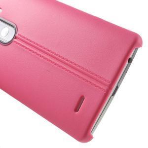Lines gelový kryt na mobil LG G3 - rose - 4