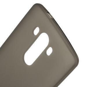 Matný gelový obal na LG G3 - šedý - 4