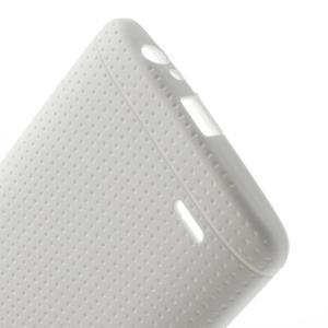 Silks gelový obal na LG G3 - bílý - 4
