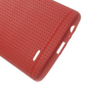 Silks gelový obal na LG G3 - červený - 4