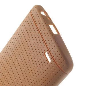 Silks gelový obal na LG G3 - oranžový - 4