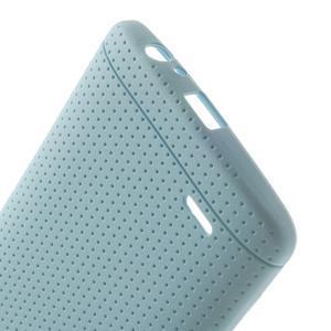 Silks gelový obal na LG G3 - světlemodrý - 4
