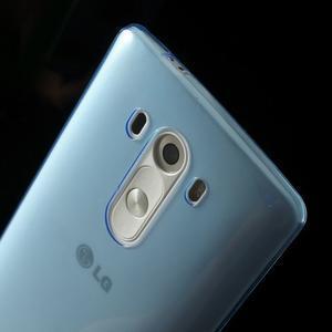 Ultratenký slim obal na mobil LG G3 - modrý - 4