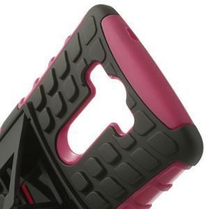 Outdoor odolný obal na mobil LG G3 - rose - 4