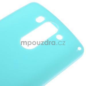 Tyrkysový gelový kryt na LG G3 s - 4