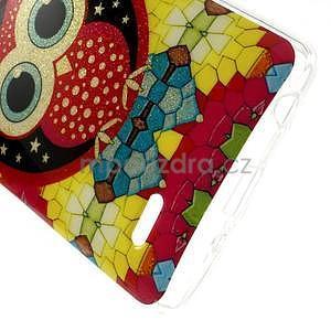 Gelový kryt pro LG G3 s - hvězdná sova - 4