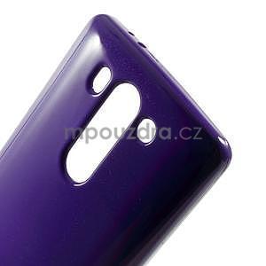 Odolný gelový obal na LG G3 s - fialový - 4