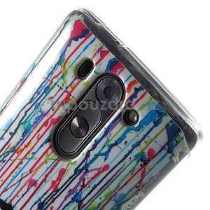Gelový obal na LG G3 s - láska pod deštníkem - 4