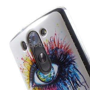 Gelový obal na LG G3 s - oko barev - 4