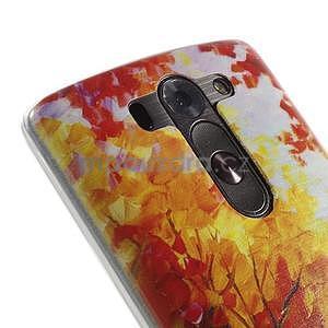 Ultra slim 0.6 mm gelový obal LG G3 s - podzimní procházka - 4