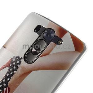 Ultra slim 0.6 mm gelový obal LG G3 s - lodičky US - 4