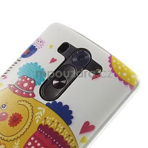 Ultra slim 0.6 mm gelový obal LG G3 s - sloník - 4