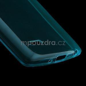 Modrý ochranný gelový kryt LG G3 s - 4