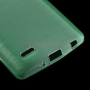 Broušený gelový obal na LG G3 s - azurový - 4