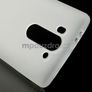 Transparentní matný gelový kryt LG G3 s - 4