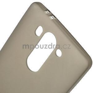 Šedý matný gelový kryt LG G3 s - 4