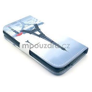 Peněženkové pouzdro na LG G3 s -  Eiffelova věž - 4