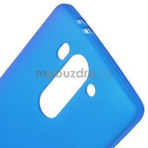 Modrý matný gelový kryt LG G3 s - 4