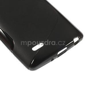 S-line černý gelový obal na LG G3 s - 4