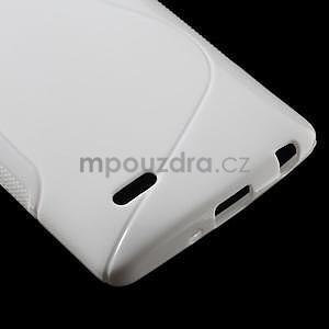 S-line bílý gelový obal na LG G3 s - 4